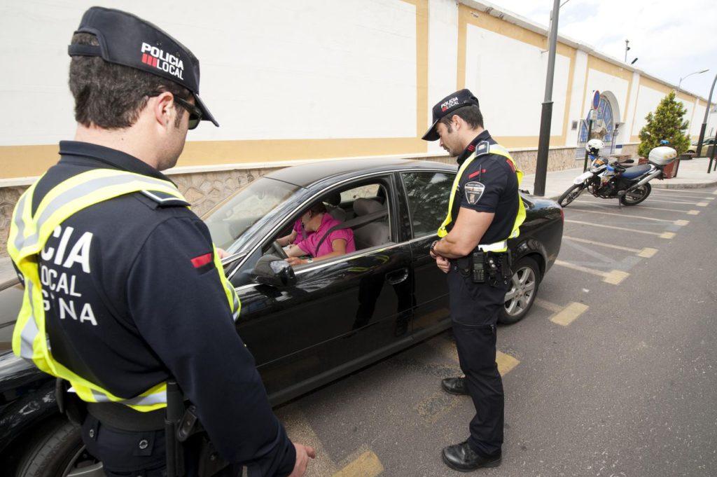 Comportamiento ante un control policial