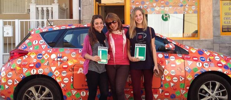Shepron avisa: un nuevo examen de conducir en ciernes